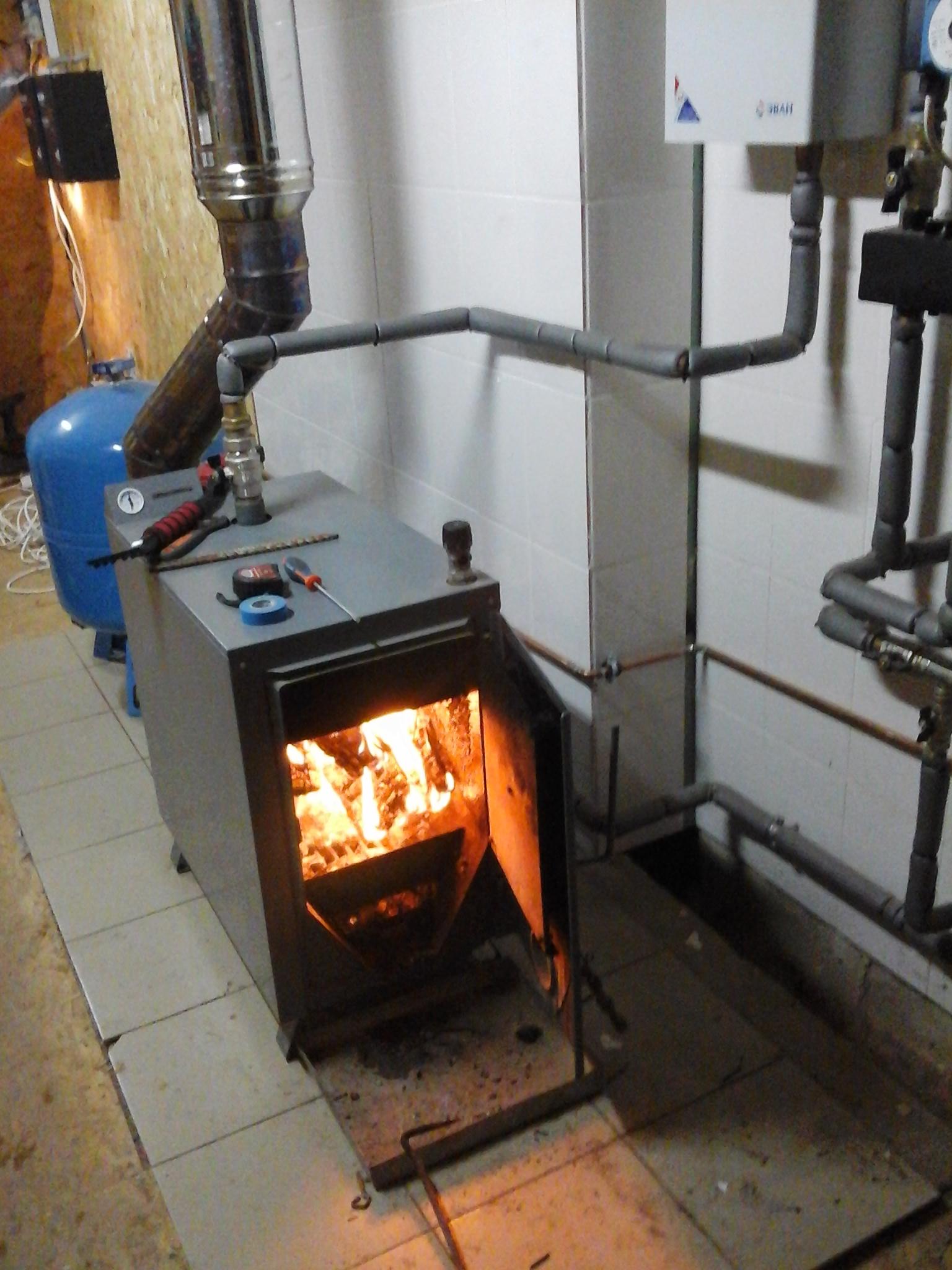 Котел отопление дома своими руками